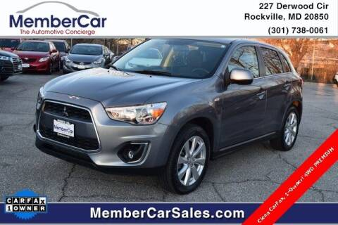 2014 Mitsubishi Outlander Sport for sale at MemberCar in Rockville MD