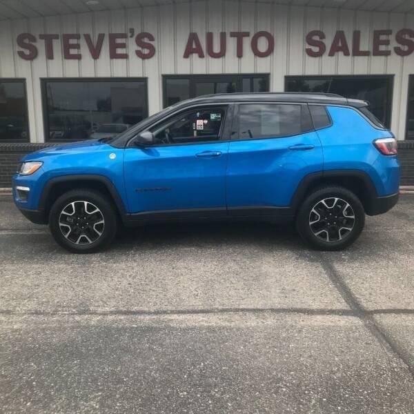 2020 Jeep Compass for sale at STEVE'S AUTO SALES INC in Scottsbluff NE