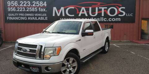 2011 Ford F-150 for sale at MC Autos LLC in Pharr TX