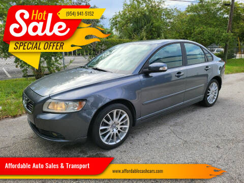 2011 Volvo S40 for sale at Affordable Auto Sales & Transport in Pompano Beach FL