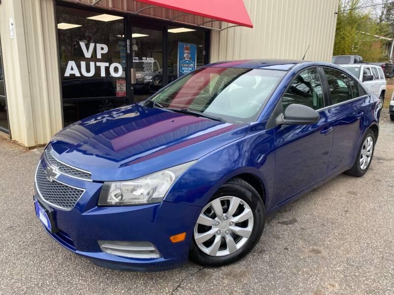 2012 Chevrolet Cruze for sale at VP Auto in Greenville SC