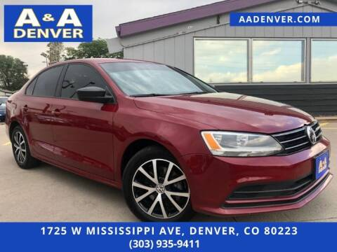 2016 Volkswagen Jetta for sale at A & A AUTO LLC in Denver CO