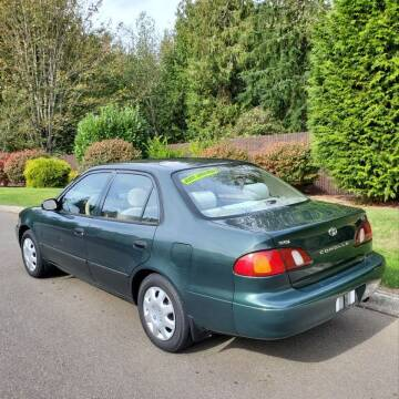 2000 Toyota Corolla for sale at Econo Auto Sales Inc in Raleigh NC