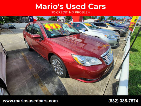 2013 Chrysler 200 for sale at Mario's Used Cars - South Houston Location in South Houston TX