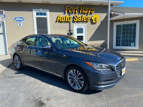 2017 Genesis G80 for sale at Fort Hays Auto Sales in Hays KS