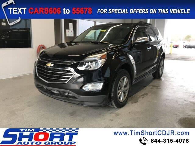 2017 Chevrolet Equinox for sale at Tim Short Chrysler in Morehead KY