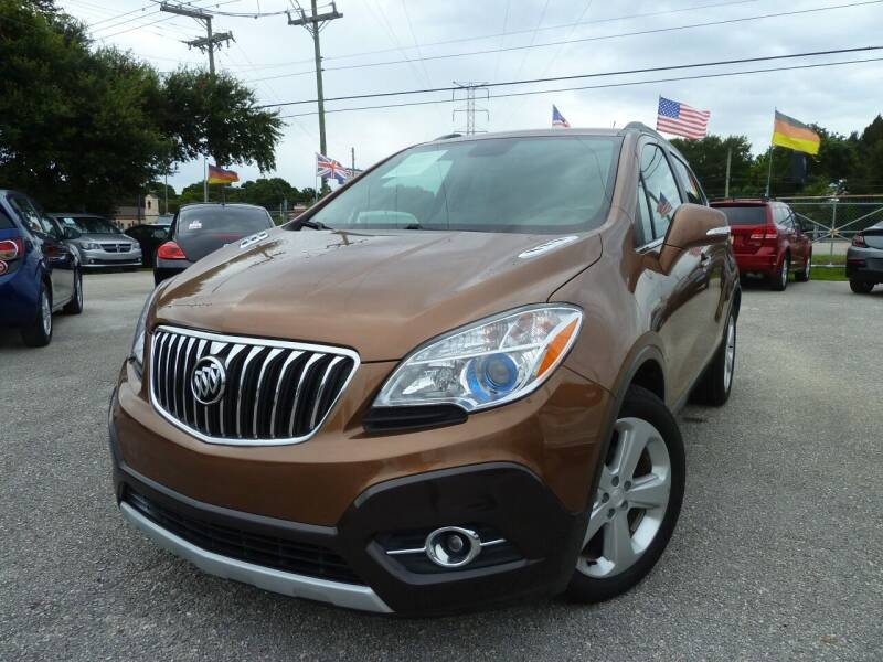 2016 Buick Encore for sale at Das Autohaus Quality Used Cars in Clearwater FL