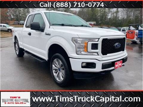 2018 Ford F-150 for sale at TTC AUTO OUTLET/TIM'S TRUCK CAPITAL & AUTO SALES INC ANNEX in Epsom NH