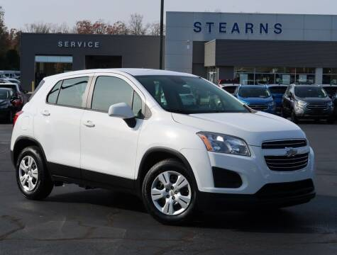 2015 Chevrolet Trax for sale at Stearns Ford in Burlington NC