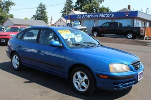 2005 Hyundai Elantra for sale at All American Motors in Tacoma WA