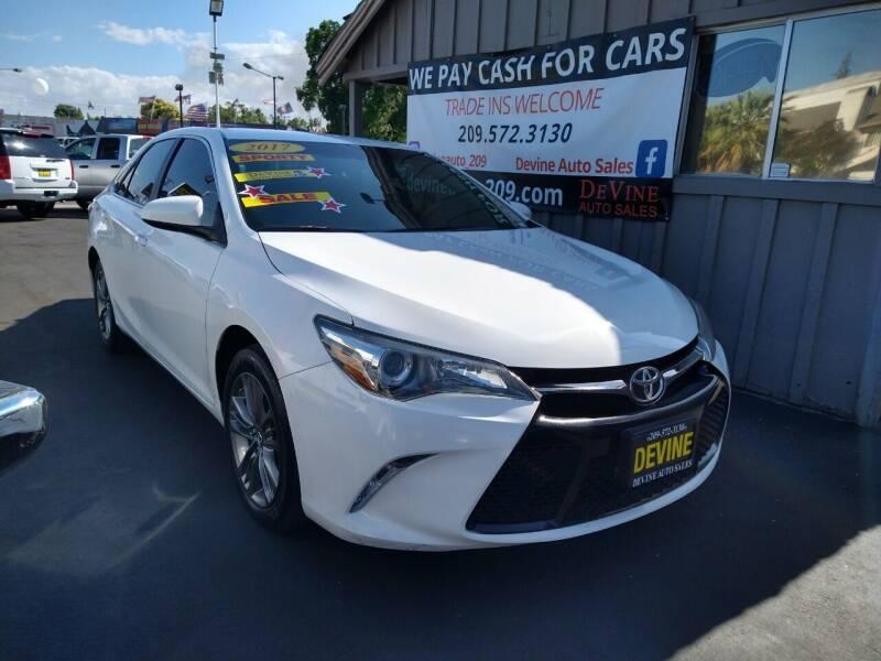 2017 Toyota Camry for sale at Devine Auto Sales in Modesto CA