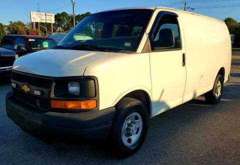 2010 Chevrolet Express Cargo for sale at Auto and Cycle Brokers of Tidewater in Norfolk VA
