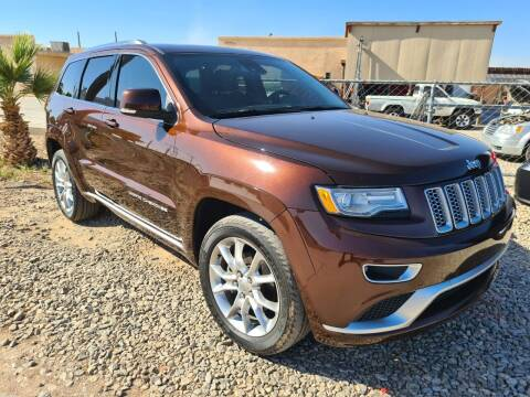 2015 Jeep Grand Cherokee for sale at A AND A AUTO SALES in Gadsden AZ