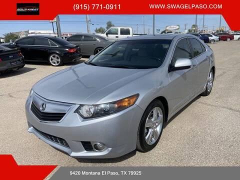 2012 Acura TSX for sale at SOUTHWEST AUTO GROUP-EL PASO in El Paso TX