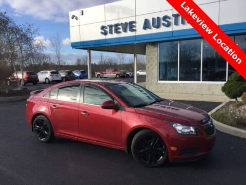 2011 Chevrolet Cruze for sale at Austins At The Lake in Lakeview OH