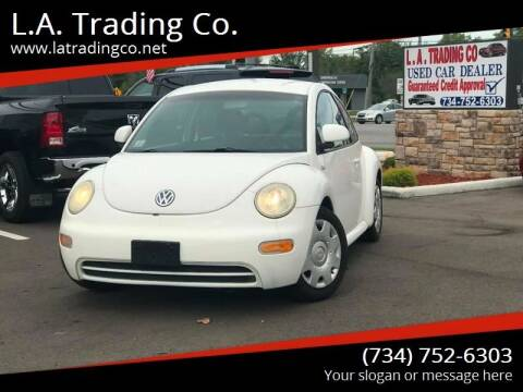 2000 Volkswagen New Beetle for sale at L.A. Trading Co. in Woodhaven MI