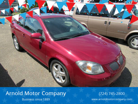 2009 Pontiac G5 for sale at Arnold Motor Company in Houston PA
