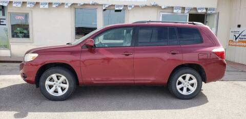 2008 Toyota Highlander for sale at HomeTown Motors in Gillette WY
