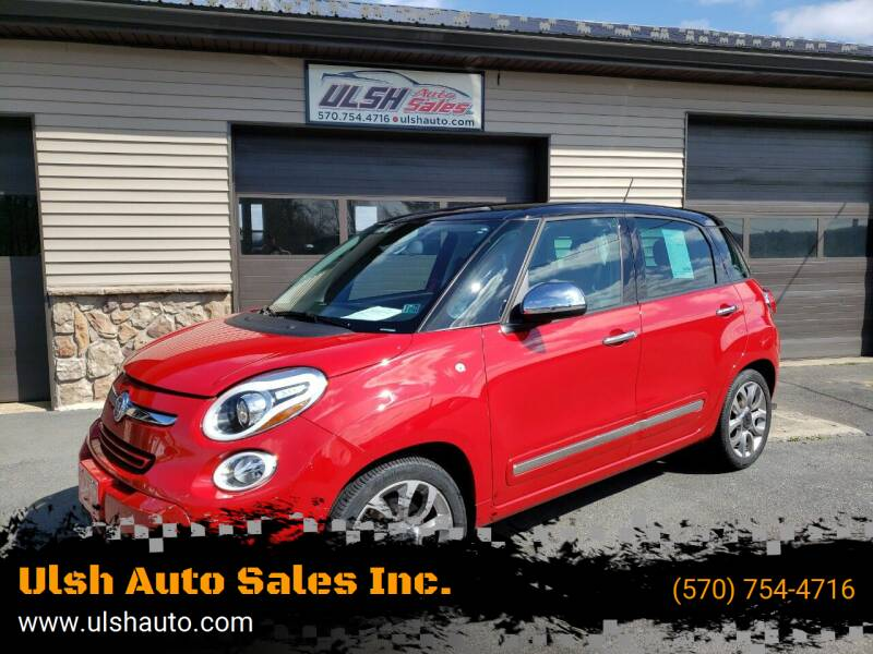 2014 FIAT 500L for sale at Ulsh Auto Sales Inc. in Summit Station PA