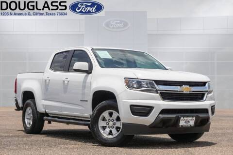 2019 Chevrolet Colorado for sale at Douglass Automotive Group - Douglas Ford in Clifton TX