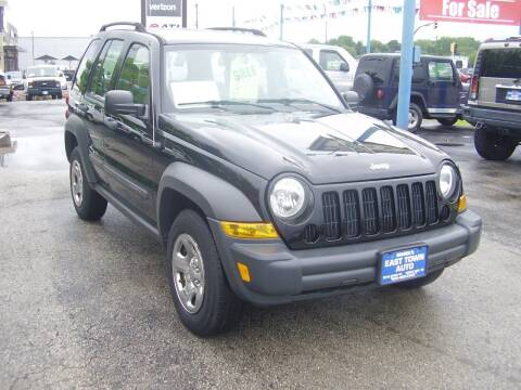 2006 Jeep Liberty for sale at East Town Auto in Green Bay WI