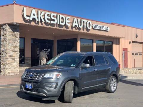 2016 Ford Explorer for sale at Lakeside Auto Brokers Inc. in Colorado Springs CO
