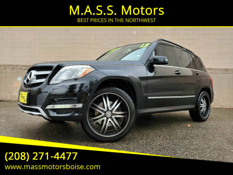 2013 Mercedes-Benz GLK for sale at M.A.S.S. Motors in Boise ID