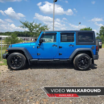 2015 Jeep Wrangler Unlimited for sale at Simmons off road sales LLC in Saint Johns MI