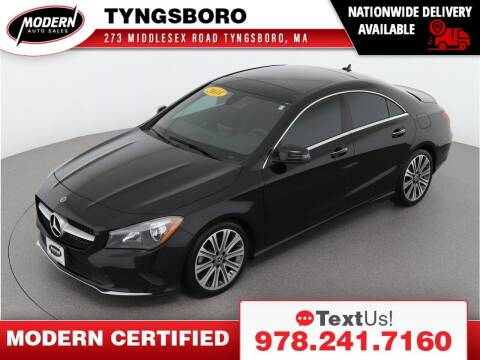 2018 Mercedes-Benz CLA for sale at Modern Auto Sales in Tyngsboro MA