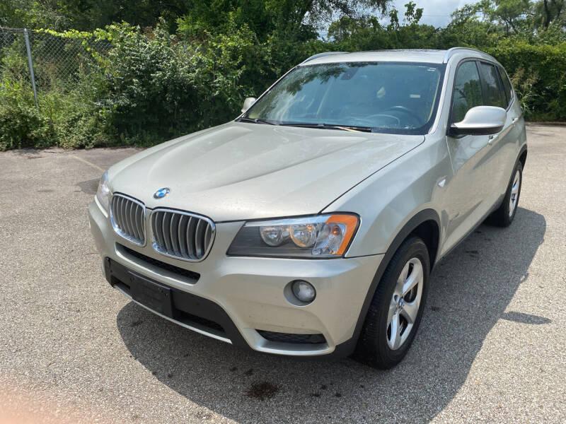 2012 BMW X3 for sale at Mr. Auto in Hamilton OH