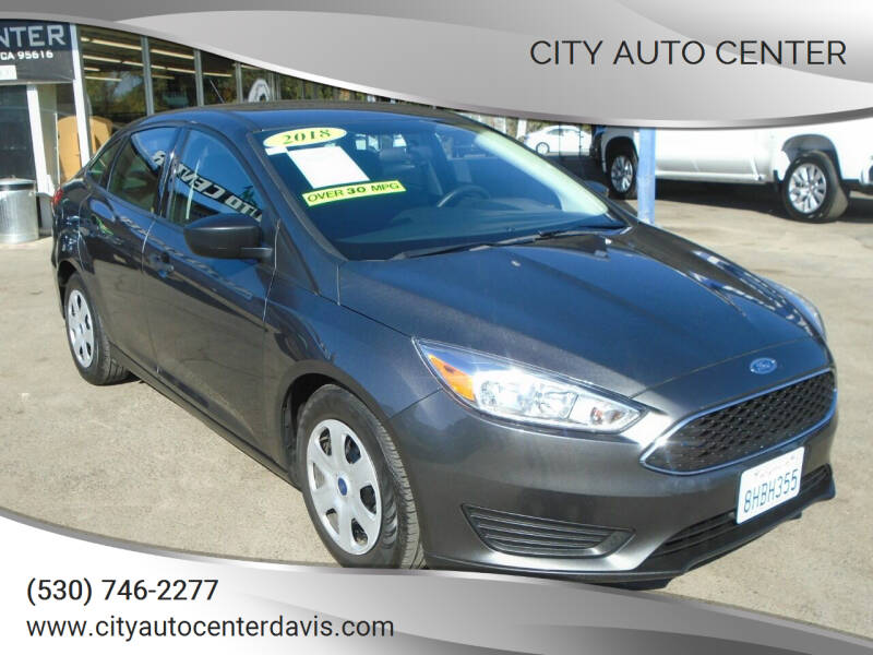2018 Ford Focus for sale at City Auto Center in Davis CA