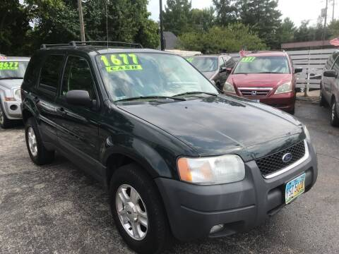 2004 Ford Escape for sale at Klein on Vine in Cincinnati OH