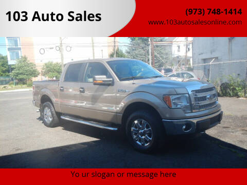 2013 Ford F-150 for sale at 103 Auto Sales in Bloomfield NJ