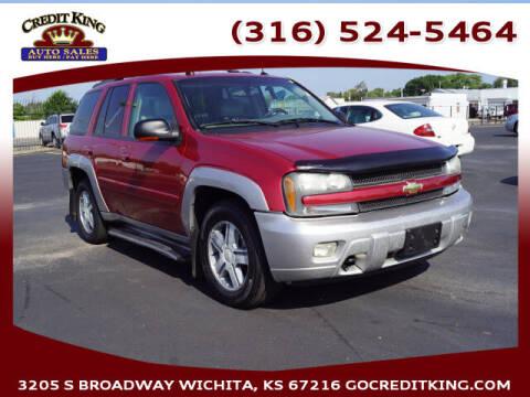 2005 Chevrolet TrailBlazer for sale at Credit King Auto Sales in Wichita KS