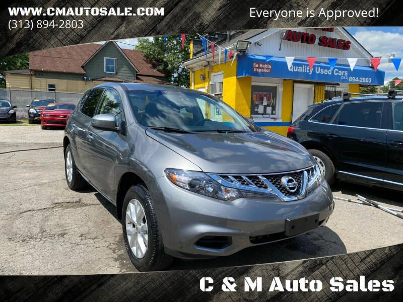 2014 Nissan Murano for sale at C & M Auto Sales in Detroit MI