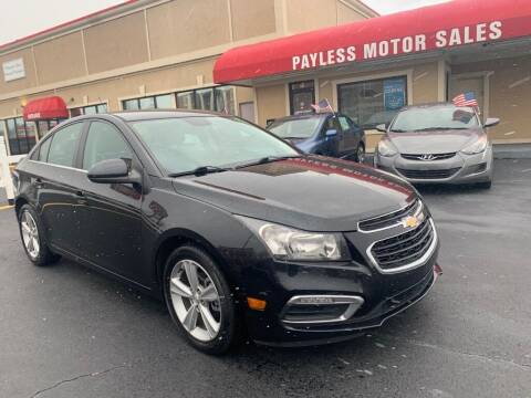 2016 Chevrolet Cruze Limited for sale at Payless Motor Sales LLC in Burlington NC