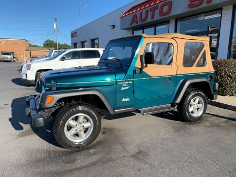 1998 Jeep Wrangler for sale at Auto Sports in Hickory NC