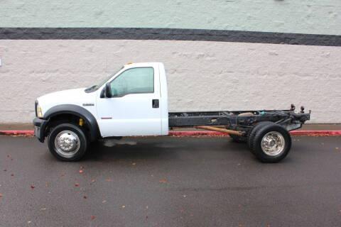 2007 Ford F-550 Super Duty for sale at Al Hutchinson Auto Center in Corvallis OR