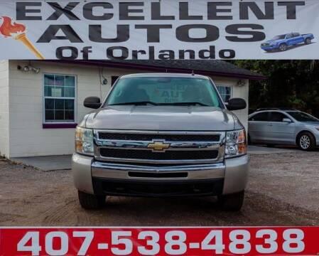 2009 Chevrolet Silverado 1500 for sale at Excellent Autos of Orlando in Orlando FL