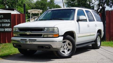 2004 Chevrolet Tahoe for sale at Hidalgo Motors Co in Houston TX
