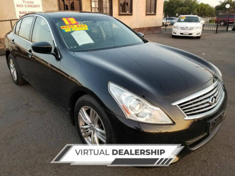 2013 Infiniti G37 Sedan for sale at Super Cars Sales Inc #1 - Super Auto Sales Inc #2 in Modesto CA