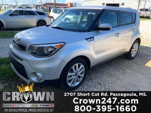 2019 Kia Soul for sale at CROWN  DODGE CHRYSLER JEEP RAM FIAT in Pascagoula MS