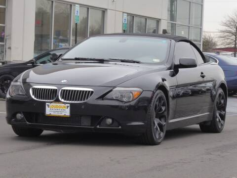 2005 BMW 6 Series for sale at Loudoun Motor Cars in Chantilly VA
