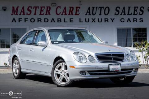 2006 Mercedes-Benz E-Class for sale at Mastercare Auto Sales in San Marcos CA