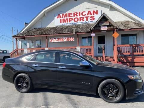 2015 Chevrolet Impala for sale at American Imports INC in Indianapolis IN