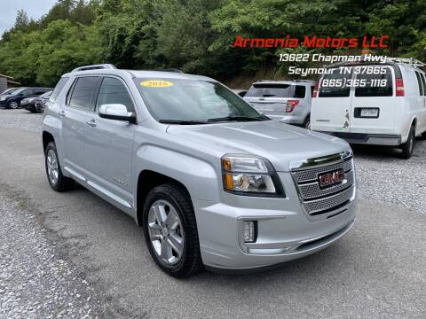 2016 GMC Terrain for sale at Armenia Motors in Seymour TN