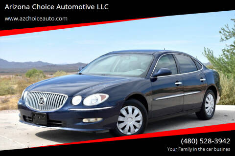 2008 Buick LaCrosse for sale at Arizona Choice Automotive LLC in Mesa AZ