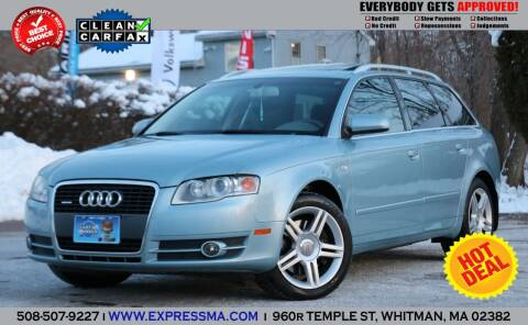 2006 Audi A4 for sale at Auto Sales Express in Whitman MA