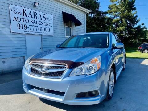 2012 Subaru Legacy for sale at Karas Auto Sales Inc. in Sanford NC