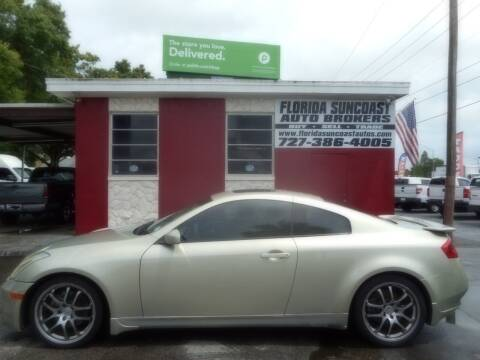2005 Infiniti G35 for sale at Florida Suncoast Auto Brokers in Palm Harbor FL